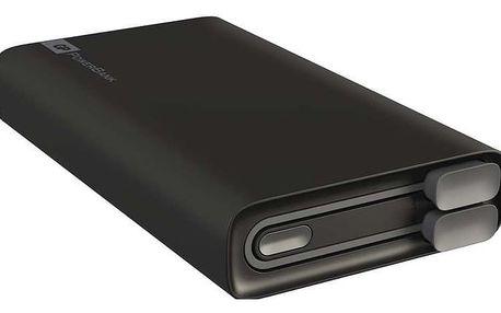 GP Powerbank RC10A 10400 mAh, černá - 1604399100