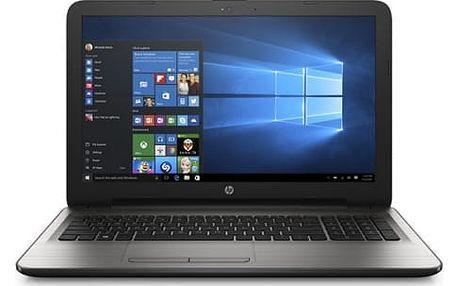 Notebook HP 15-ay035nc (F1D49EA#BCM) stříbrný