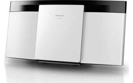 Mikrosystém Panasonic SC-HC195EG-W bílý