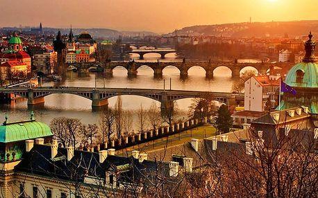 Praha a romantika ve společnosti tajemna v 3* hotelu se snídaní + poukaz na večeři