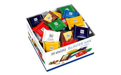 Ritter Sport mini bunter mix 84 x 16,7g