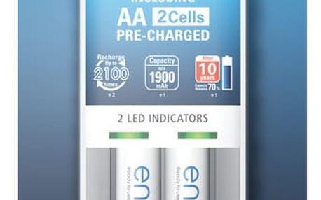 Panasonic ENELOOP KJ50MCC20E 2x AA - 35048274 + ZDARMA radiobudíku Panasonic (v ceně 299,- Kč)