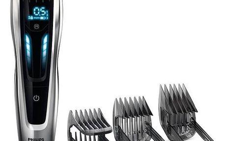 Zastřihovač vlasů Philips Hairclipper series 9000 HC9450/15 černý + Doprava zdarma