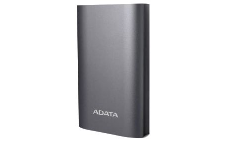 Power Bank ADATA A10050QC 10050mAh, s funkcí rychlonabíjení (AA10050QC-USBC-5V-CTI) titanium