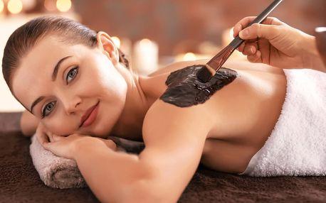 Čokoládové opojení: luxusní masáž se zábalem