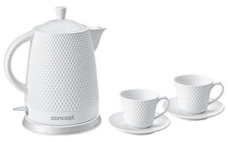 Rychlovarná konvice Concept RK0040 bílá