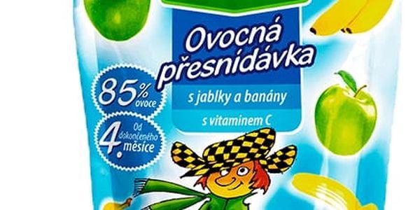 12x HELLO s jablky a banány 100g - ovocný příkrm