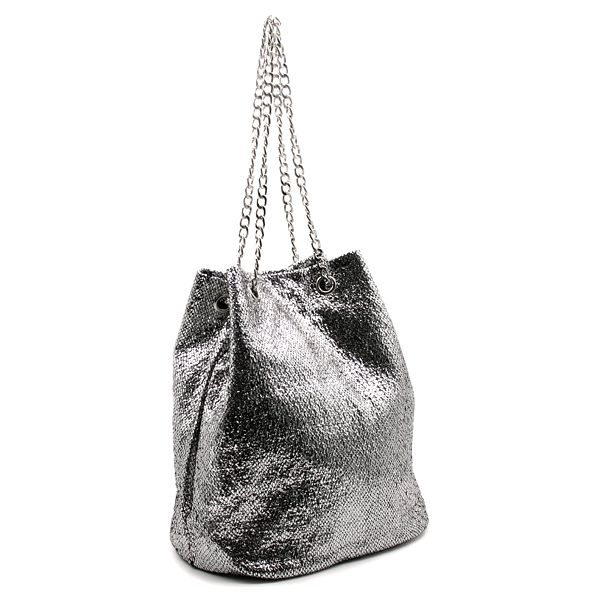 Fashion Icon Dámská kabelka Silver stříbrná