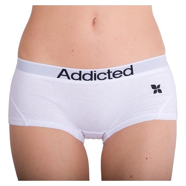 Dámské Kalhotky Addicted - Bílá L