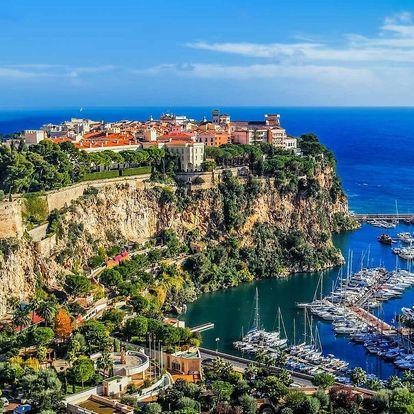 Výlet do Monaka na oslavu silvestra, 30. 12. - 1. 1. 2018