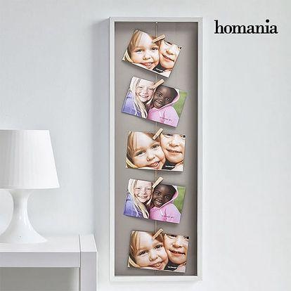 Fotorámeček s Kolíčky Homania 5 fotek