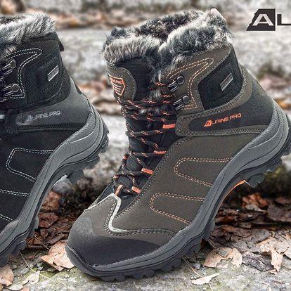 Dámská zateplená zimní obuv Alpine Pro
