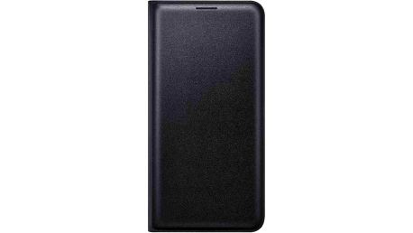 Samsung flip. pouzdro s kapsou pro Galaxy J5 2016, Black - EF-WJ510PBEGWW