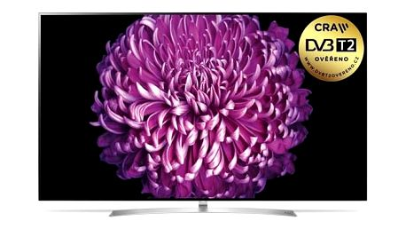 Televize LG OLED65B7V stříbrná + Doprava zdarma