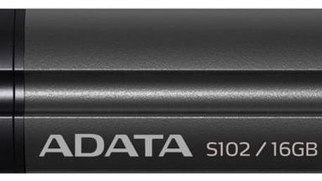 ADATA Superior S102 Pro 16GB, titanová šedá - AS102P-16G-RGY