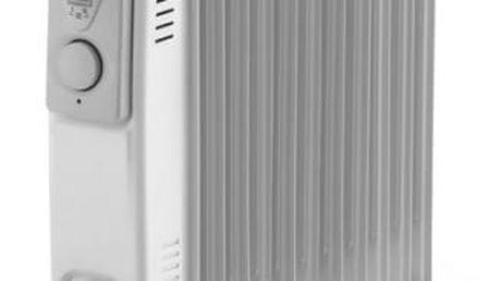 Olejový radiátor ELEM WTRBH2511 bílý