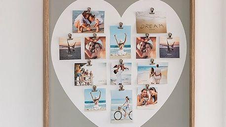 Fotorámeček s Kolíčky Heart Homania 13 fotek