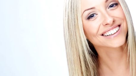 Bělení zubů LED lampou a bezperoxidovým gelem + remineralizace