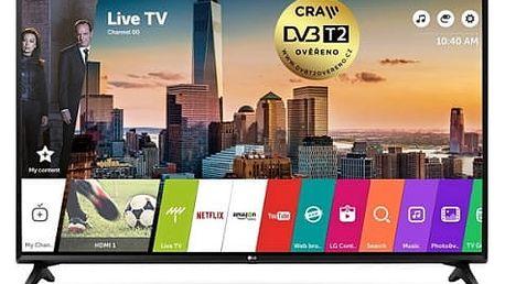 Televize LG 49LJ594V černá