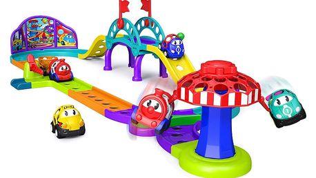 OBALL Hračka auto-vláčková dráha Zábavní park Go Grippers 18m+