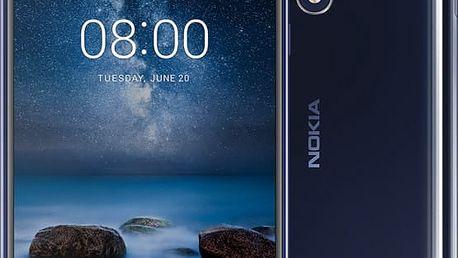 Nokia 8,lesklá modrá - 11NB1L01A12