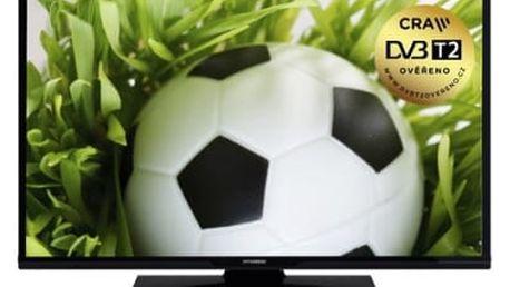 Televize Hyundai HLP 24T370 černá