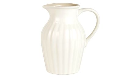 IB LAURSEN Džbán Mynte Butter Cream, krémová barva, keramika