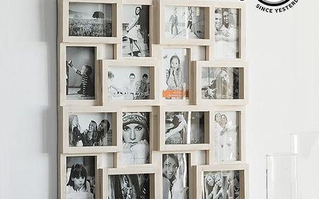 Fotorámeček Puzzle Vintage Coconut 16 fotek