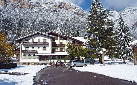Itálie, Dolomiti Superski, vlastní dopravou na 4 dny polopenze