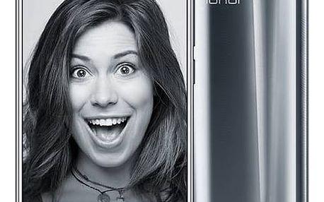 Mobilní telefon Honor 9 Dual SIM 64 GB (51091TBF) stříbrný Software F-Secure SAFE 6 měsíců pro 3 zařízení (zdarma) + Doprava zdarma