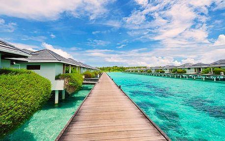 Maledivy, Jižní Ari Atol, letecky na 10 dní polopenze