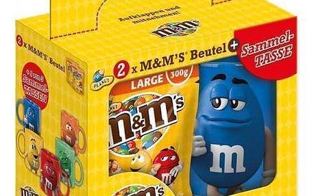 M&M's arašídové dražé 2x250g + hrnek