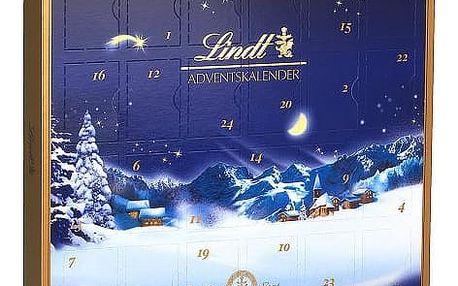 Lindt adventní kalendář 115g - modrý
