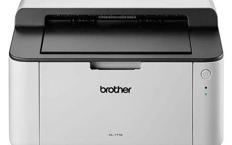Tiskárna laserová Brother HL-1110E (HL1110EYJ1) bílá