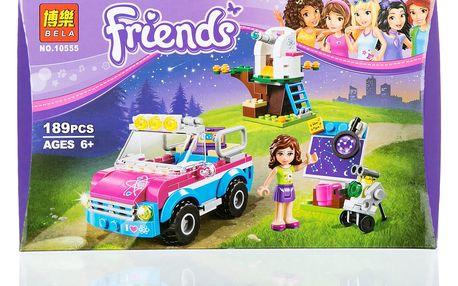 BELA Friends Stavebnice Olivie a její průzkumné auto - 189 ks