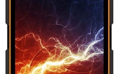 Mobilní telefon myPhone HAMMER ENERGY Dual SIM (TELMYAHAENEROR) černý/oranžový + DOPRAVA ZDARMA