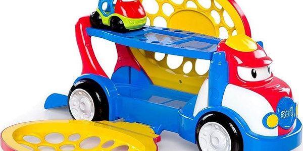 OBALL Hračka přepravník Grumpy + autíčko Dave Oball Go Grippers 18m+