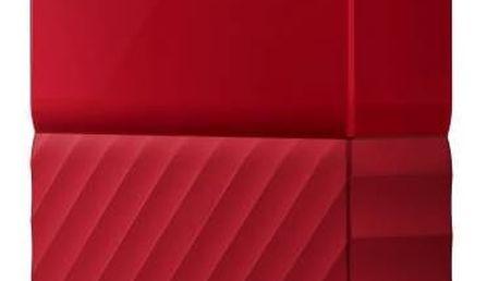 """Externí pevný disk 2,5"""" Western Digital My Passport 2TB (WDBYFT0020BRD-WESN) červený"""