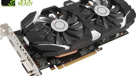 MSI GeForce GTX 1060 3GT OC, 3GB GDDR5