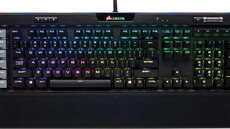 CORSAIR Gaming K95 PLATINUM, Cherry MX Brown, RGB LED, černá, NA - CH-9127012-NA