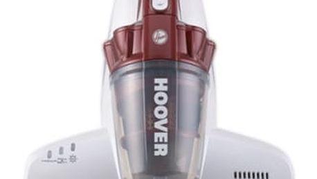Vysavač ruční Hoover MBC500UV bílý/vínový