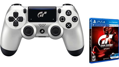 Sony PS4 DualShock 4 v2, GT Sport + Gran Turismo Sport - PS719932468