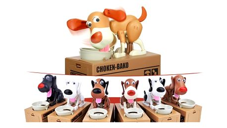 Pokladnička na mince - Hladový pes