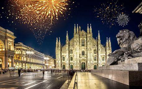Výlet na silvestr a památky v Miláně, 30. 12. - 1. 1. 2018