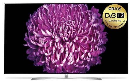 Televize LG OLED55B7V stříbrná + Doprava zdarma