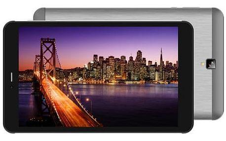 Dotykový tablet iGET SMART G81 (84000210) černý/stříbrný