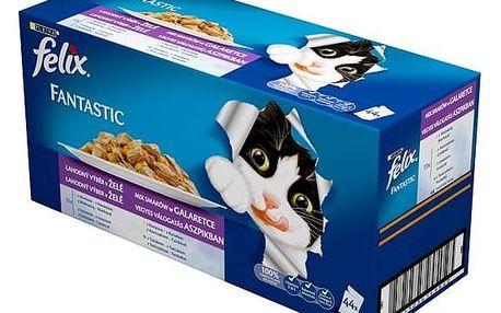Kapsička Felix Fantastic lahodný výběr Multipack 44 x 100 g