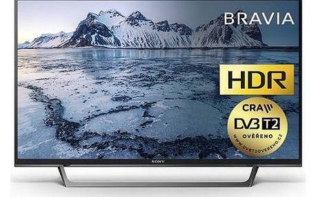 Televize Sony KDL-40WE665B černá + Doprava zdarma