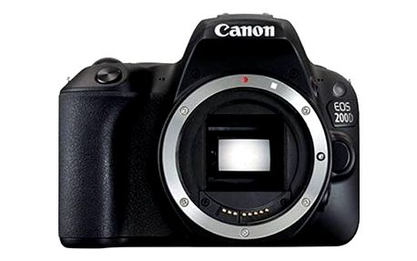 Digitální fotoaparát Canon EOS EOS 200D (2250C001) černý + Doprava zdarma
