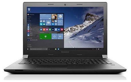 Notebook Lenovo B51-80 (80LM00JNCK) černý Software F-Secure SAFE 6 měsíců pro 3 zařízení (zdarma) + Doprava zdarma